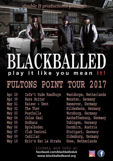 Blackballed - Tour