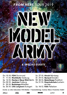 New Model Army - From Here Tour
